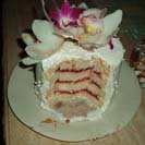 Maui Wedding Cakes -  Slices and Insides